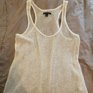 American Eagle knit/crochet tank top